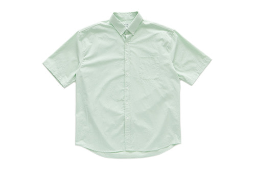 Cotton Short Sleeve Shirts (Light Green)