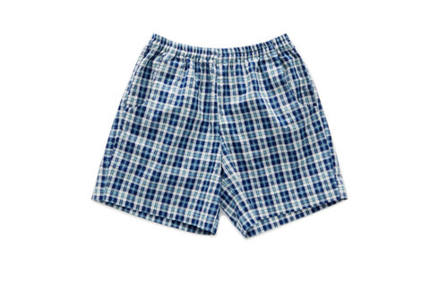 Check Shorts (Blue)