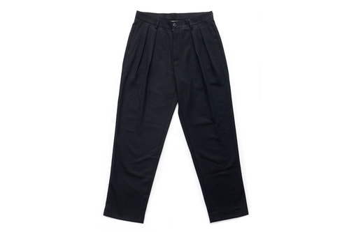 Wide Slacks (Black)