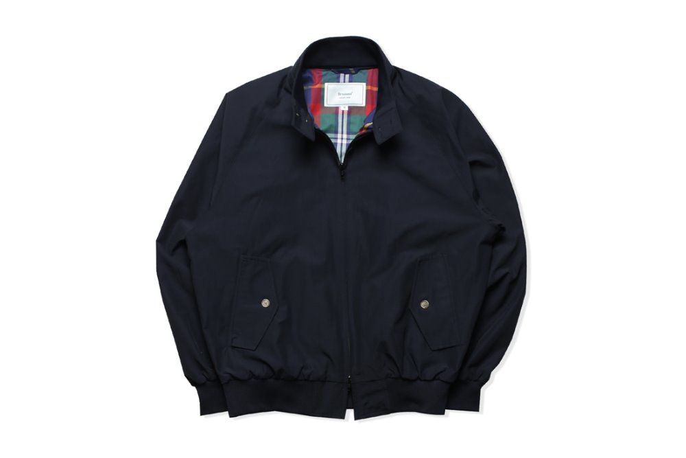 Harrington Jacket (Dark Navy)