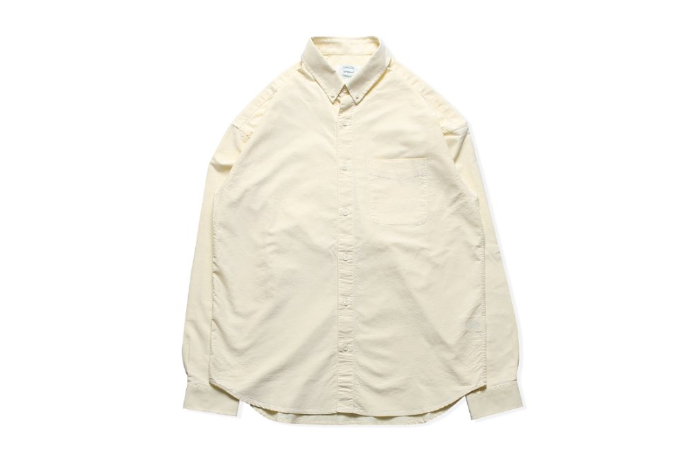 Oxford BD Shirts (Light Yellow)