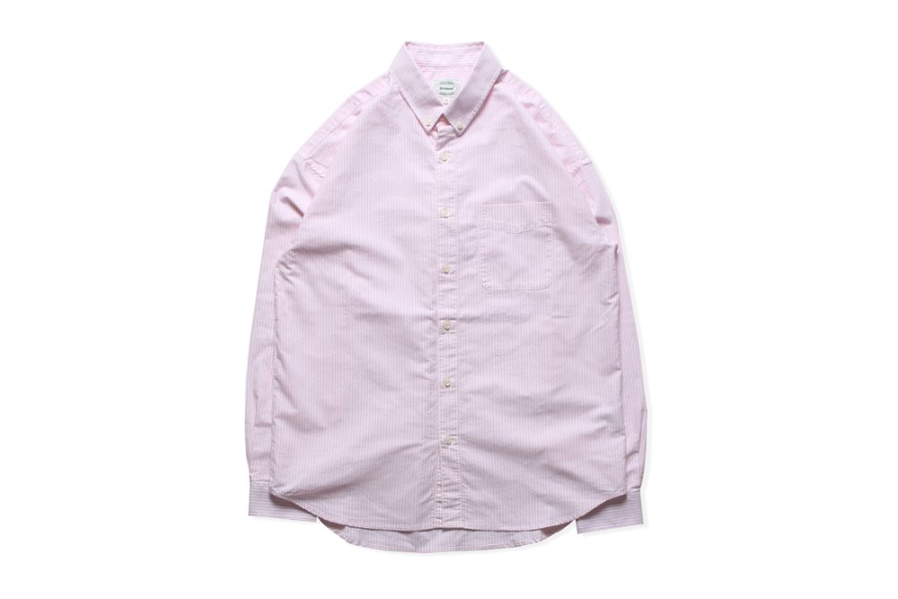 Oxford BD Stripe Shirts (Pink)