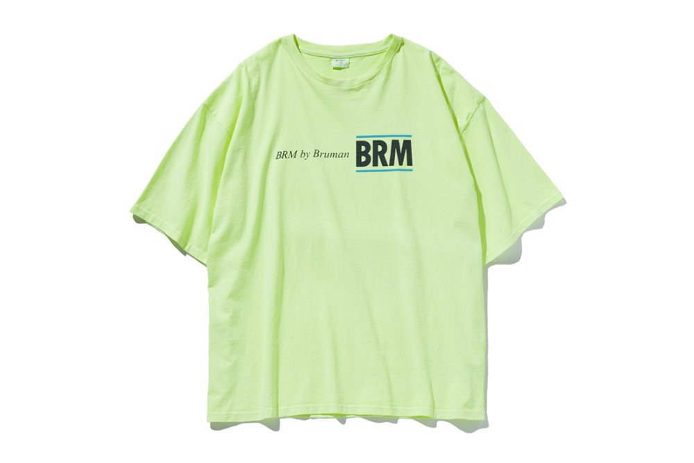 BRM Logo T-Shirts (Neon Yellow)