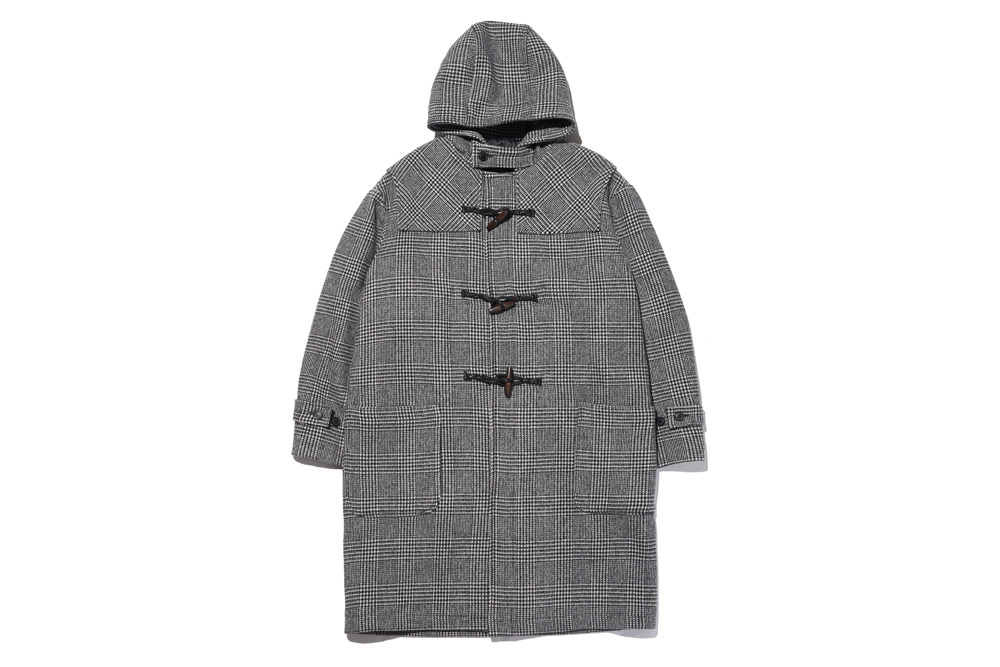 Long Duffle Coat(Glen Check)