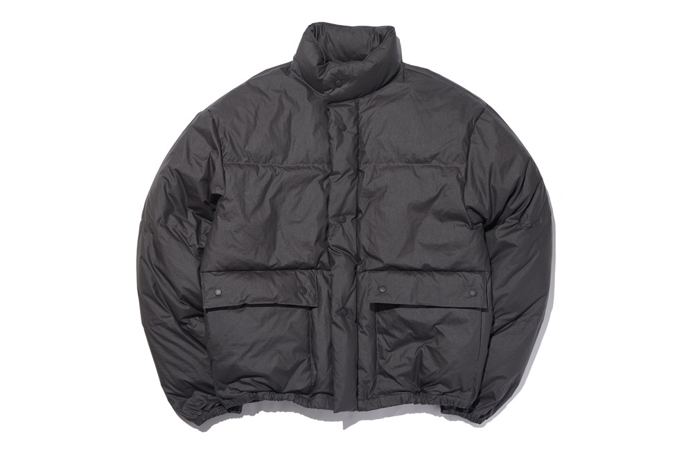 Puffer Down Jacket(Midnight Black)