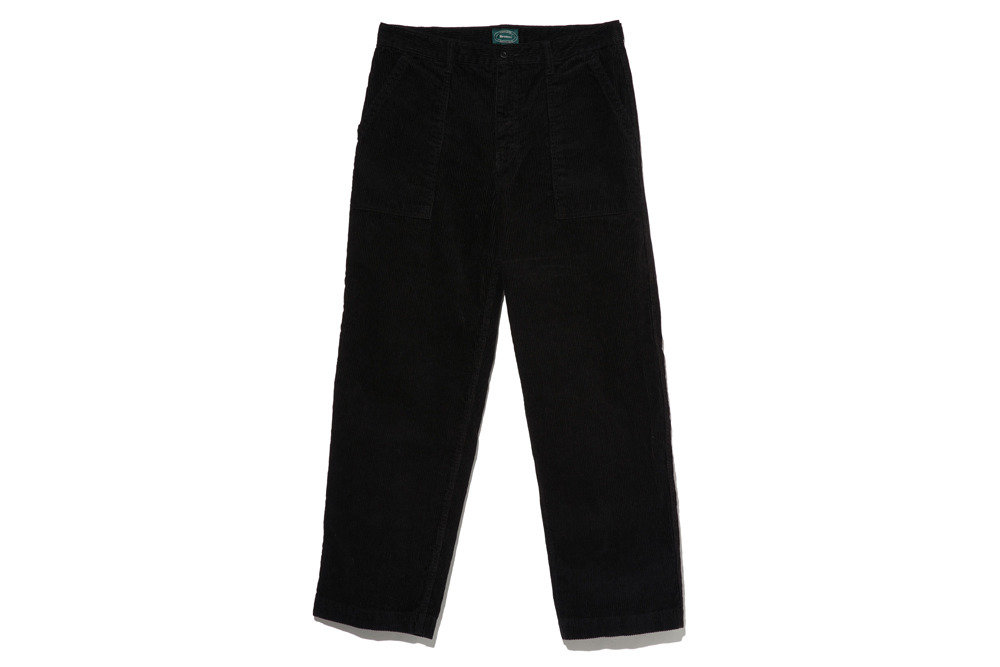Corduroy Baker Pants(Black)