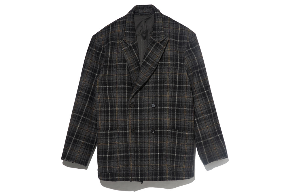 Double Breasted Jacket(Tartan Check)