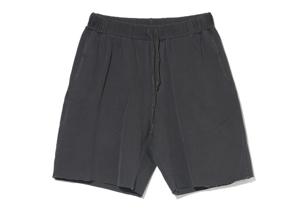 Cut-Off Sweat Shorts(C.Grey)