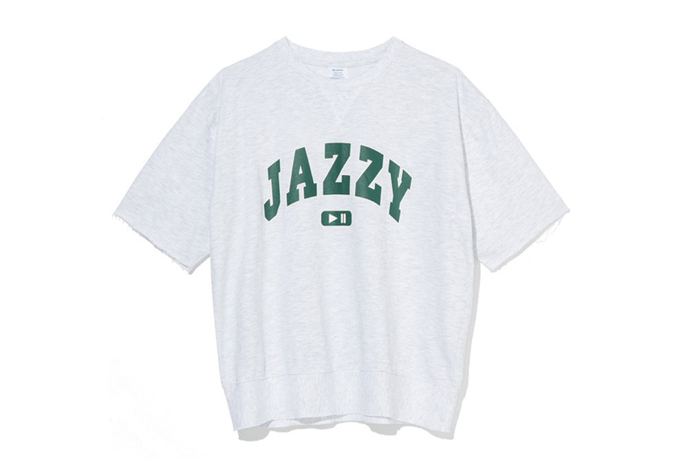 Jazzy Sweat Shirts(L.Grey)
