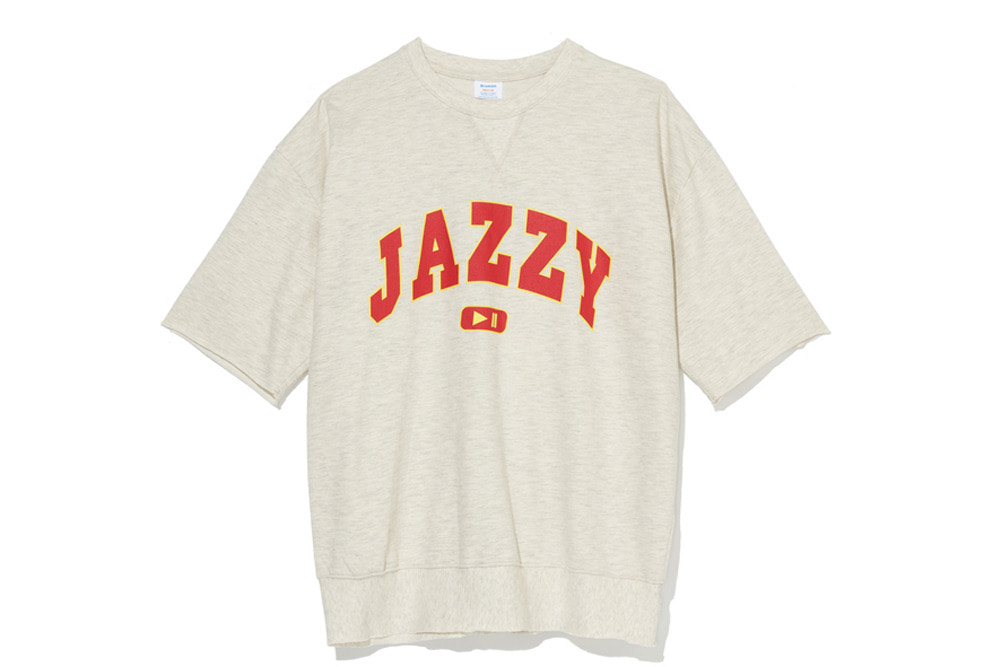 Jazzy Sweat Shirts(Oatmeal)
