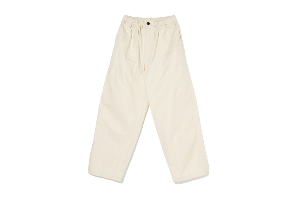 Cotton Easy Pants(Cream)