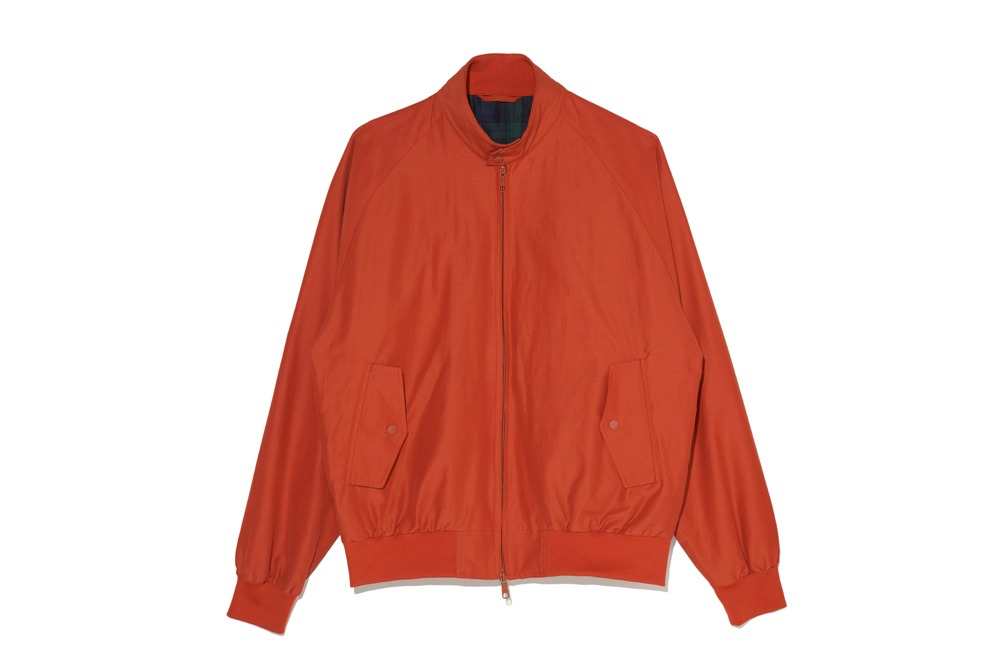 Harrington Jacket (Dark Orange)