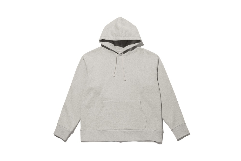 Cotton Pullover Hoodie(Light Grey)