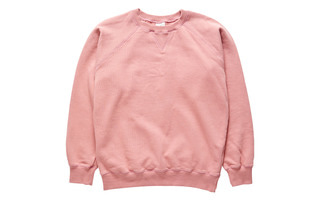 Raglan Sweat Shirts (Pink)