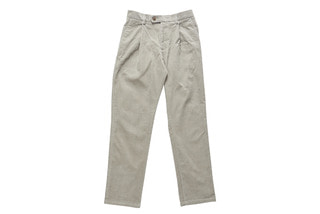 Corduroy Easy Pants (Grey)