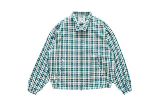Check Harrington Jacket (Green)