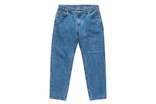 Standard Denim Pants (Medium Blue)
