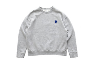 B Logo Sweat Shirts (Melange)