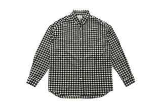 Flannel Gingham Shirts (Black)