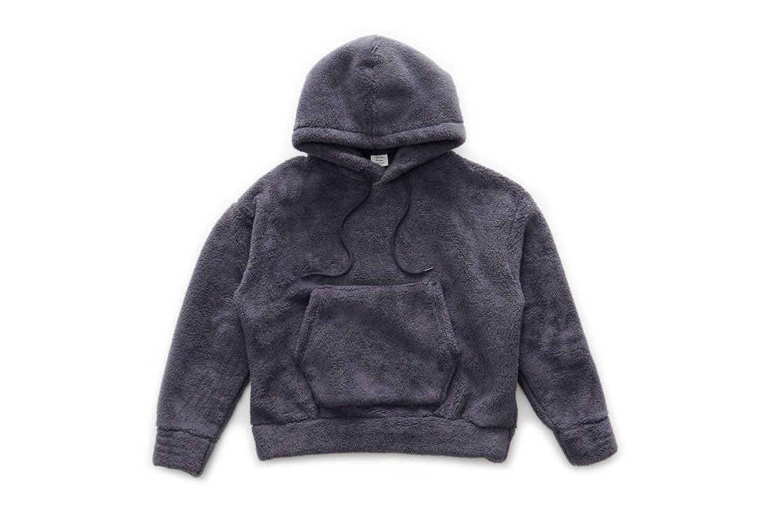 Boa Fleece Hoody (Charcoal)