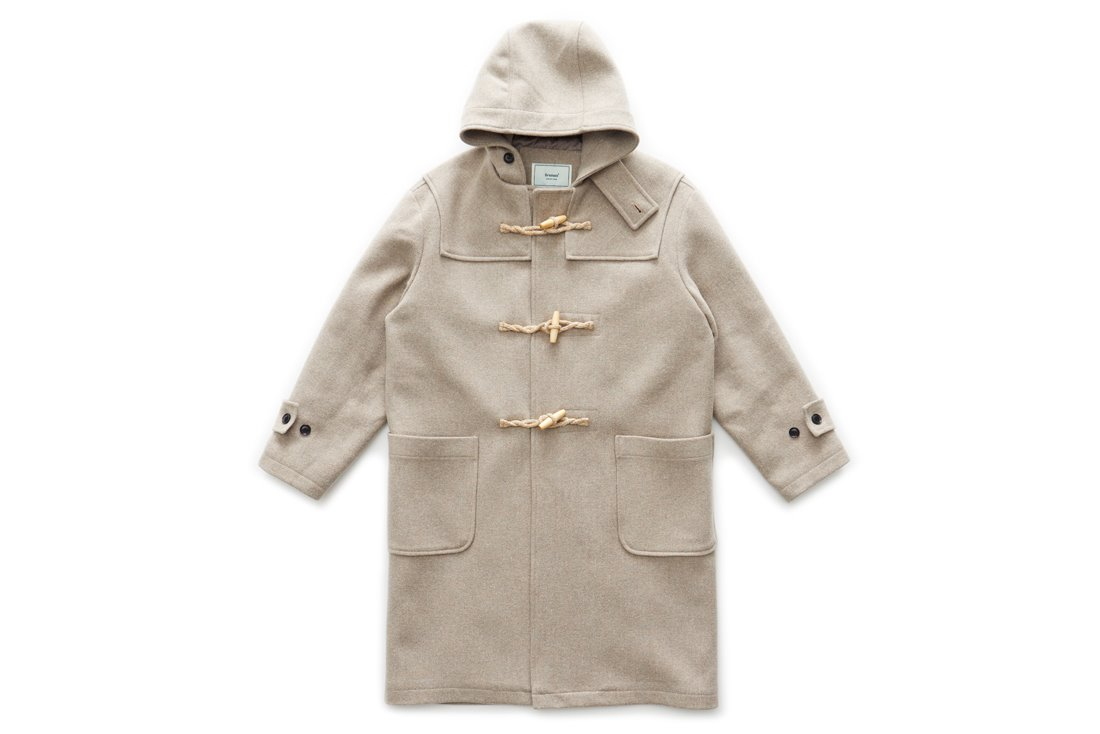 Long Duffle Coat (Oatmeal)