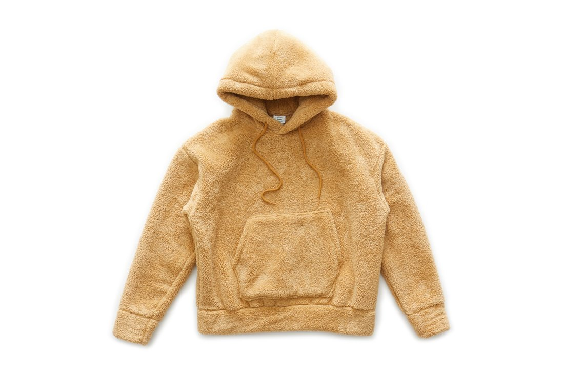 Boa Fleece Hoody (Beige)