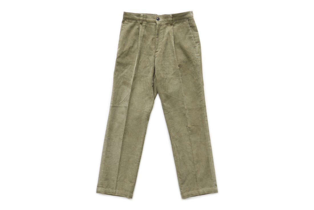 Corduroy Regular Pants (Light Khaki)