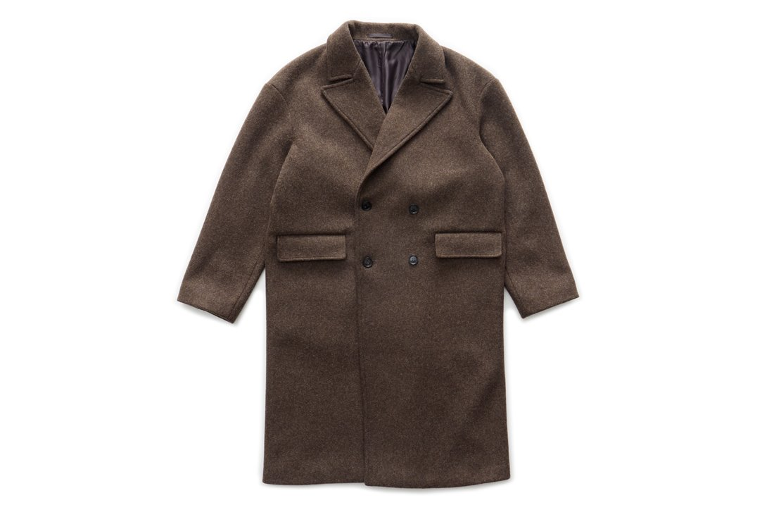 Oversize Double Coat (Brown)
