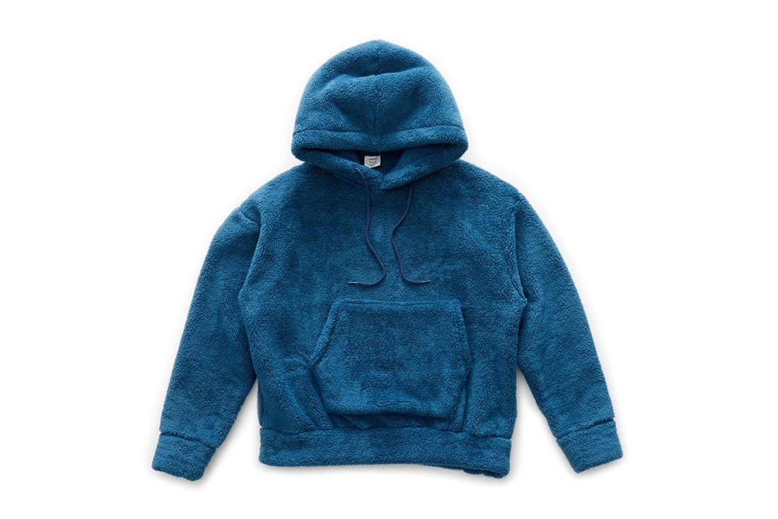 Boa Fleece Hoody (Blue Green)