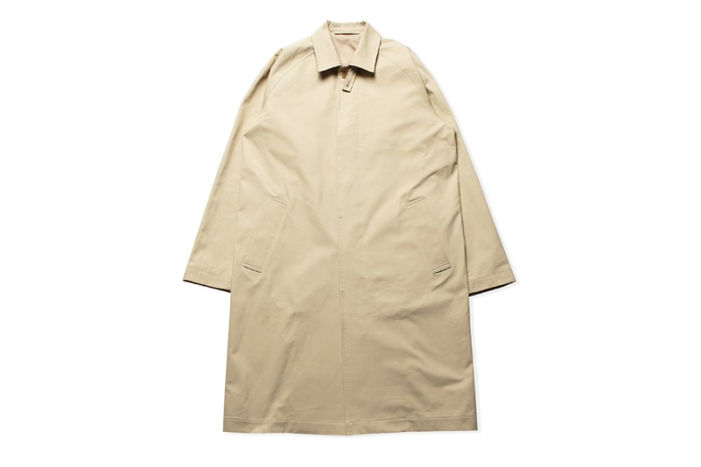 Stand Collar Mac Coat (Beige)