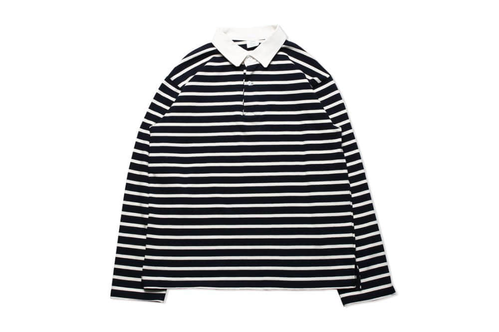 Stripe Rugby T-shirts (Navy)