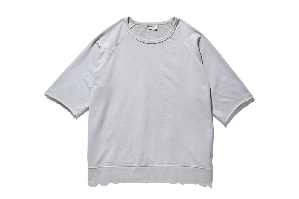 Cut Off Sleeve Sweat (L.Beige)