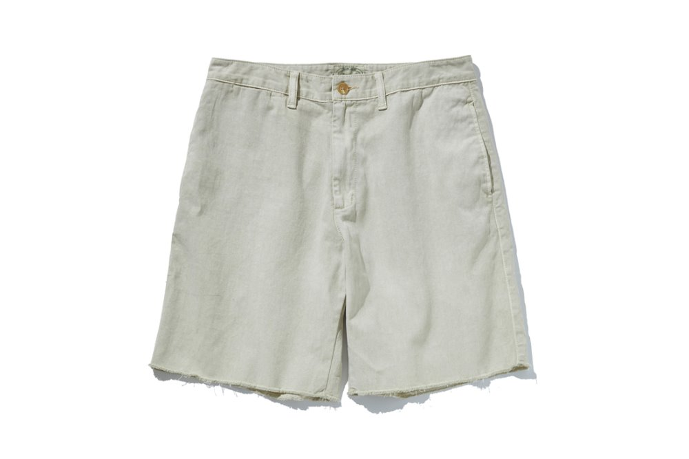 Cut Off Shorts (Beige)