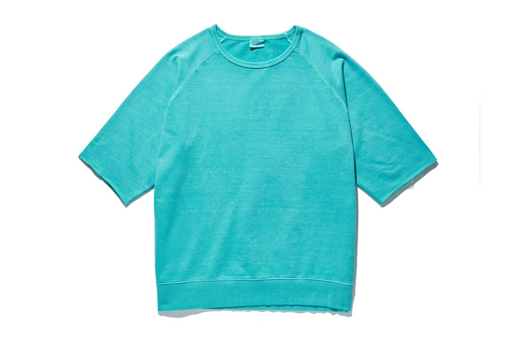 Cut Off Sleeve Sweat (Mint)