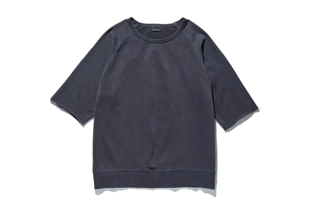 Cut Off Sleeve Sweat (C.Grey)