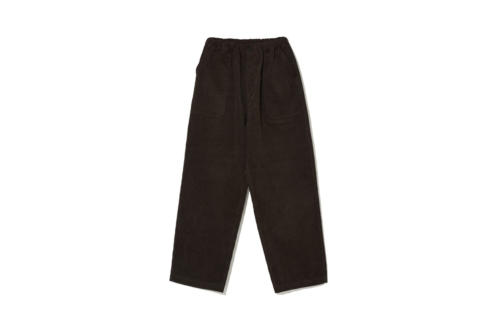 Corduroy Comfort Pants(Brown)