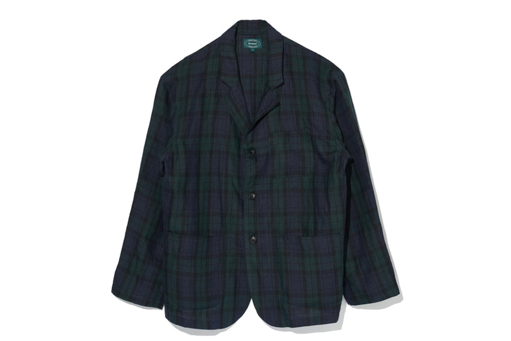 Black Watch Linen Jacket(Check)