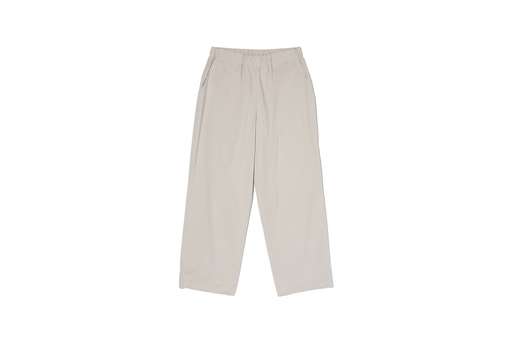 Compact Easy Pants (Beige)