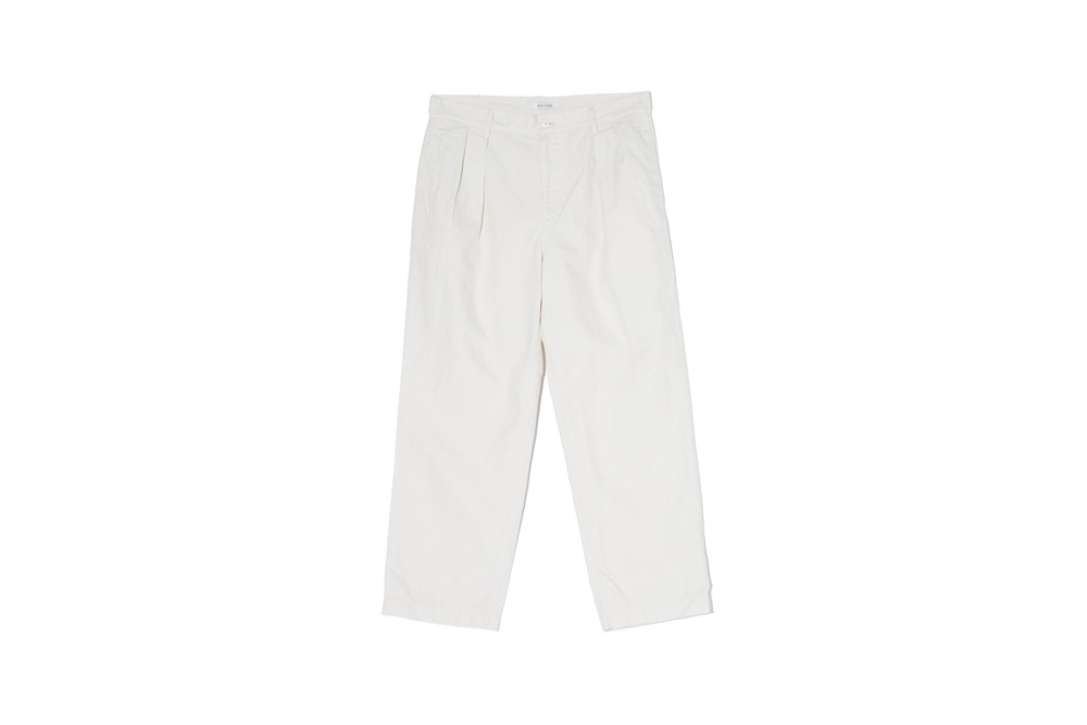 Natural Wide Pants (Ivory)