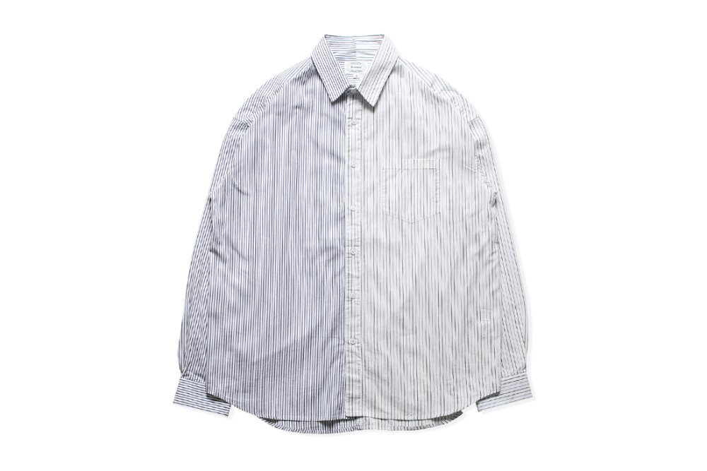 Mixed Stripe Shirts (White)