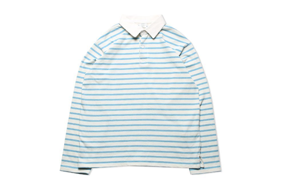 Stripe Rugby T-shirts (Blue)