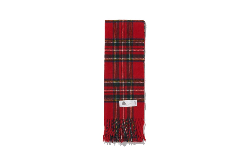 Merino Wool Muffler(Red)